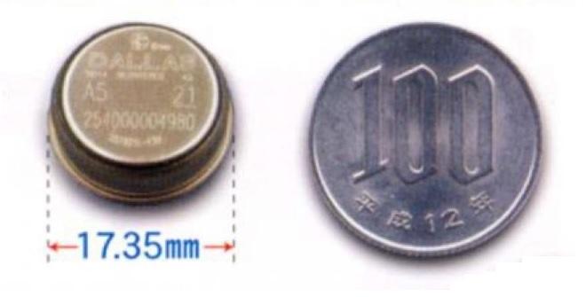 超小型温度データロガー温度メモリボタン
